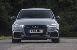 Audi RS 3 Saloon, full front static