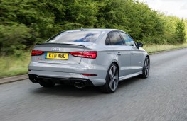 Audi RS 3 Saloon, rear action