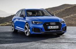 Audi RS4 Avant front static
