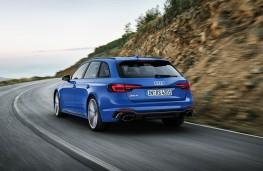 Audi RS4 Avant rear action