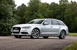 Audi A6 Avant, side