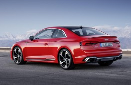 Audi RS 5 Coupe rear threequarter