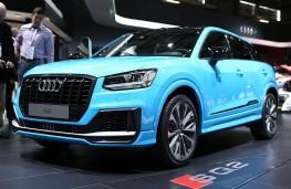 Audi SQ2 front threequarter