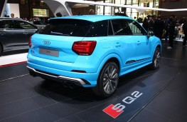 Audi SQ2 rear threequarter