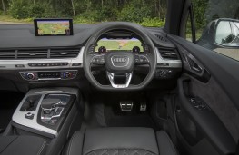 Audi SQ7, dashboard