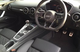 Audi TTS coupe, interior