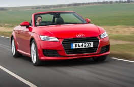 Audi TT Roadster, front action