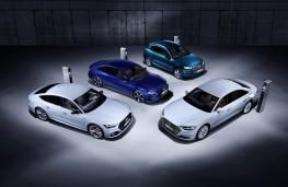 Audi TFSI e plug-in hybrids, A6, A7 Sportback, Q5 and A8