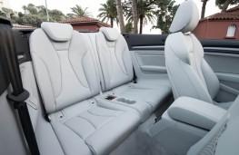 Audi A3 Cabriolet, seats