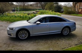 Audi A8 55 TFSI quattro tiptronic, profile