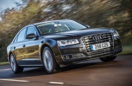 Audi A8, front, action