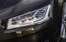 Audi A8, LED headlamps