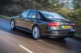Audi A8, rear