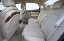 Audi A8, rear seats