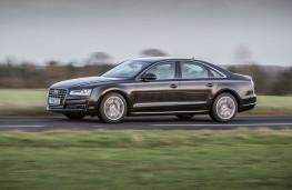 Audi A8, side