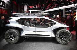 Audi Al.Trail Concept, side