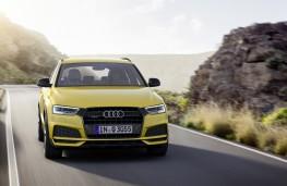 Audi Q3 Black Edition, front