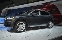 Audi Q5, 2016, Los Angeles auto show