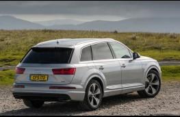 Audi Q7, rear
