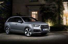 Audi Q7, front, static, night