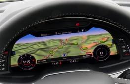 Audi Q7, instrument panel