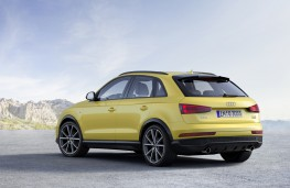 Audi Q3 Black Edition, rear