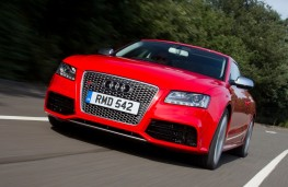 Audi RS5 front