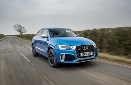 Audi RS Q3 Performance, front, action