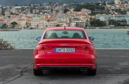 Audi S3 Saloon, rear