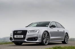 Audi S8 plus, front