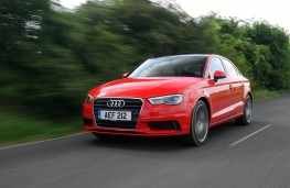 Audi A3 Saloon, front