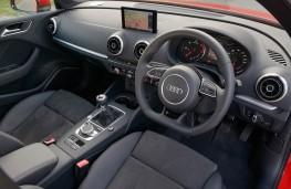 Audi A3 Saloon, interior