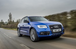 Audi SQ5 plus, 2016, front, action