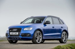 Audi SQ5 plus, 2016, front, static