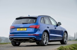 Audi SQ5 plus, 2016, rear, static