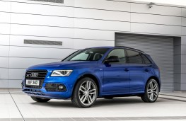 Audi SQ5 plus, 2016, side, static