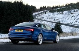Audi A5 Sportback, rear quarter