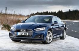 Audi A5 Sportback, front quarter