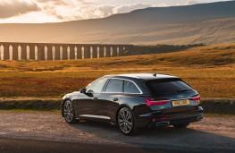 Audi A6 Avant, rear