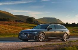 Audi A6 Avant, front