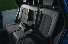 Audi Q3, interior, rear