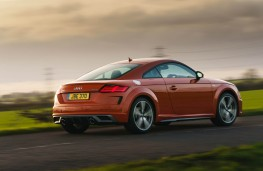Audi TT Coupe, rear