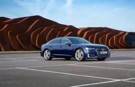 Audi S6, front