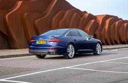 Audi S6, rear