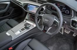 Audi S6, interior