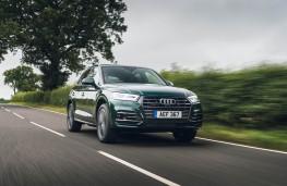 Audi Q5, front