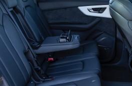 Audi Q7, rear seats
