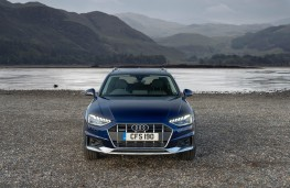 Audi A4 Allroad, front