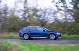Audi A4 Allroad, side