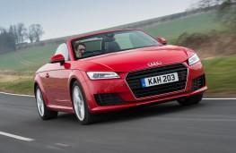 Audi TT Roadster, action